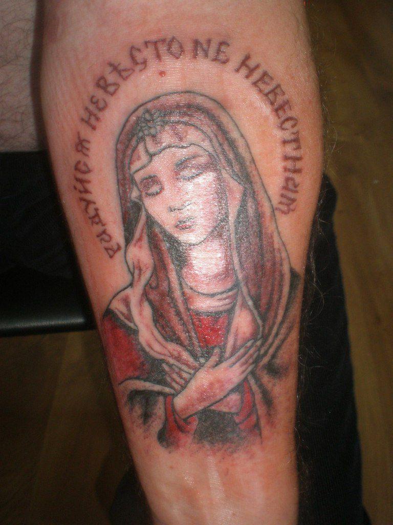 Татуировка в традиционном стиле